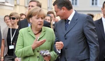 2011 - Pahor - Merkel, Ljubljana, SI