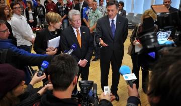 2014 - Pahor - Gauck, Ljubljana, SI