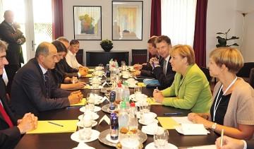 2011 - Janša - Merkel, Ljubljana, SI