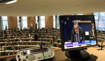 2018 - European Parliament & ToT, Bruselj, BE